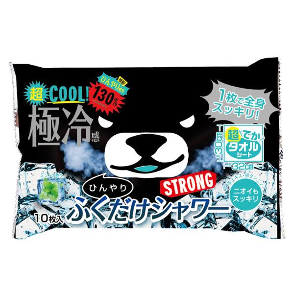 黑熊涼感大片濕紙巾-強效薄荷【康是美】