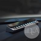 IDEA 金屬滑蓋停車牌 臨停 臨時停車 停車卡 暫時停車 電話號碼 軟性磁鐵 隱藏
