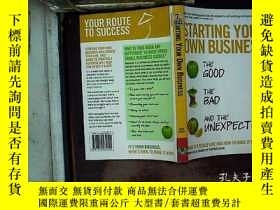 二手書博民逛書店starting罕見your own businessY1808