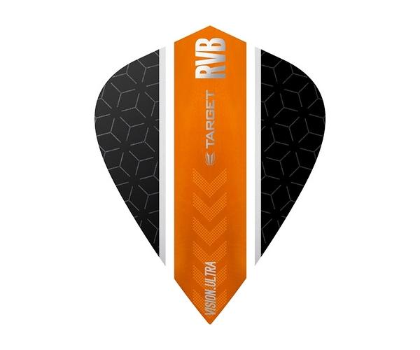 【TARGET】VISION ULTRA KITE RVB Stripe Black x Orange 331800 鏢翼 DARTS