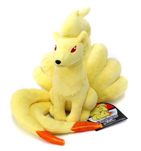 九尾 絨毛玩偶 Pokemon 寶可夢 神奇寶貝 S號娃娃 日本正品 該該貝比日本精品 ☆