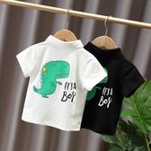 嬰兒童裝2020夏裝新款男女童短袖T恤2小童洋氣上衣寶寶韓版POLO衫 快速出貨