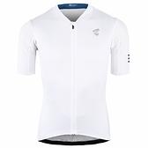 【亞特力士ATLAS】 男女短袖車衣 JS-166-W (白)
