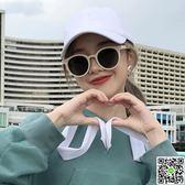 2018新款網紅眼鏡白色框墨鏡女韓版潮街拍ins超火小臉太陽鏡CY潮流站