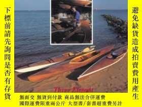 二手書博民逛書店The罕見Kayak Shop: Three Elegant Wooden Kayaks Anyone Can B