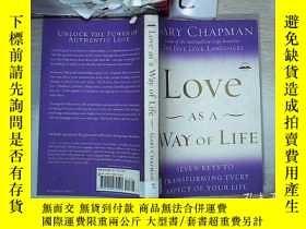 二手書博民逛書店love罕見as a way of life 愛是一種生活方式(30)Y203004