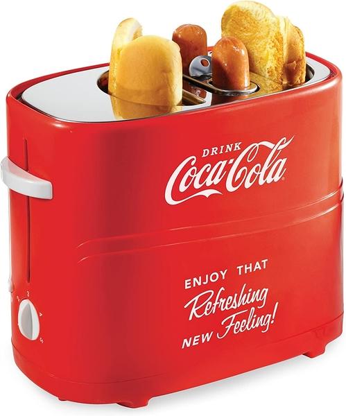 [2美國直購] 烤麵包機 熱狗機 Nostalgia Electrics Coca Cola Series HDT600COKE Pop-Up Hot Dog Toaster
