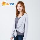 UV100 防曬 抗UV-舒適綁帶罩衫-女