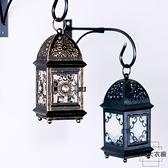 歐式蠟燭臺復古鐵藝家用裝飾燭臺擺件北歐浪漫燭光【時尚大衣櫥】