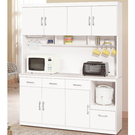 櫥櫃 餐櫃 QW-850-3 祖迪白色5...