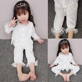 女童2018新款春裝睡衣套裝兒童女孩寶寶家居服棉質兩件套3-4-5歲禮物限時八九折