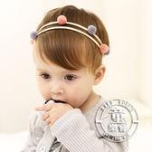 髮帶 韓版 寶寶 毛球 可愛 精靈 造型 髮飾 BW