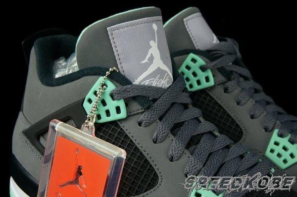 AIR JORDAN 4 Green Glow 灰綠 AJ4 四代 籃球鞋 308497-033 ☆SP☆