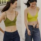 日系無鋼圈夏文胸薄款性感U型美背內衣女大胸顯小背心式大露背bra 現貨快出