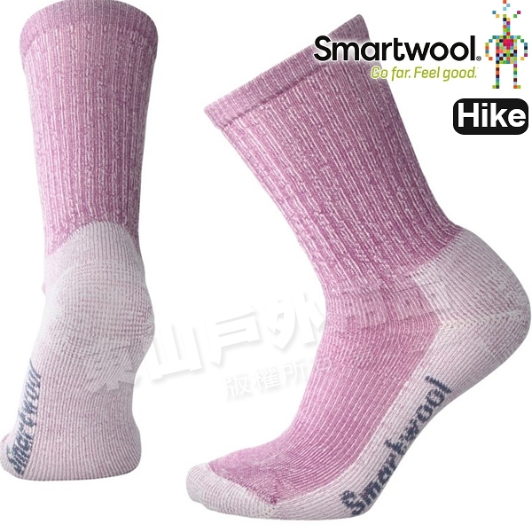SmartWool Hike LT SW293-A22粉霧紫 女輕量減震型健行中長襪 美麗諾羊毛襪/機能排汗襪戶外襪