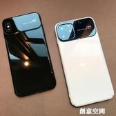 蘋果手機殼 蘋果X手機殼iPhone11Pro玻璃Xs Max超薄iPhoneXR防摔XR套