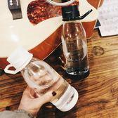 隨手杯水杯塑料女學生可愛隨手杯ins 水瓶便攜 男生潮流 杯子簡約小艾