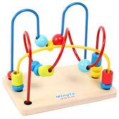 雙十一返場促銷益智玩具兒童繞珠串珠嬰幼益智玩具男孩女寶寶積木1-3歲