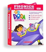 Dora探險家自然發音系列套書set 3 with CD