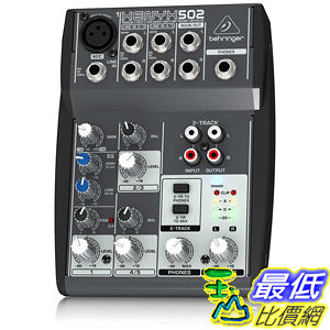 [美國直購 ShopUSA] 德國品牌 Behringer XENYX502 5-Channel Mixer 混音器