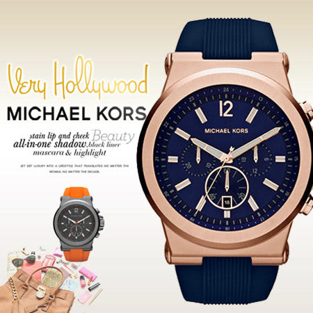MICHAEL KORS 美式奢華休閒腕錶 MK8295 現+排單 熱賣中!