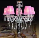 水晶蠟燭燈  LED燈 6燈 【藍星居家】