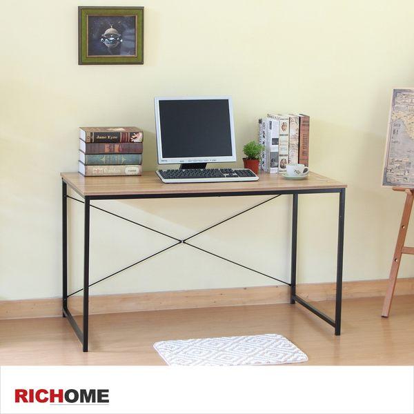 【RICHOME】《DM簡單美學平面書桌-胡桃色》DE242 書桌 工作桌 電腦桌
