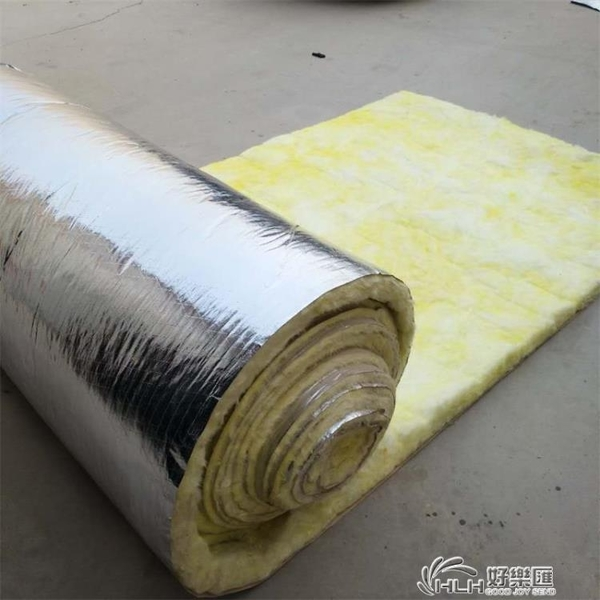 防火隔音棉玻璃屋頂隔熱巖棉保溫捲消音吸音天花頂填充大棚牆體好樂匯