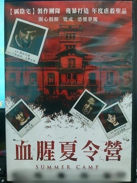挖寶二手片-M02-080-正版DVD*電影【血腥夏令營】-米雅沃許*迪亞哥伯納達