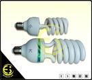 ES數位 小螺旋型 E27燈座專用 5500K 45W 冷光 省電燈泡 標準色溫 陶瓷頭 散熱孔 白光 無頻閃