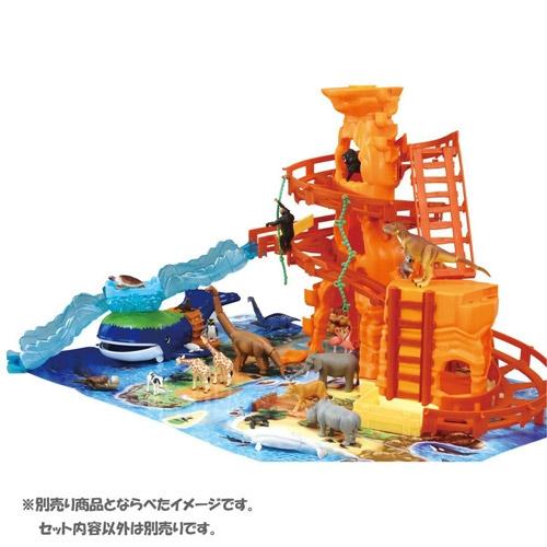 特價 TOMICA多美動物園 冒險鯨魚島遊戲組_ AN89576