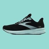 Brooks 慢跑鞋 Launch 8 Wide 寬楦頭 黑 綠 女鞋 輕量透氣 避震支撐 運動鞋【ACS】 1203451D096