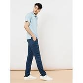 【南紡購物中心】【TRAVELER旅行者】男款Supplex彈性抗UV長褲(鐵灰藍)