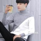 男士高領毛衣新款秋冬季加厚打底衫男裝韓版針織衫線衣潮流 Korea時尚記