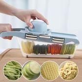 切絲器土豆絲切絲器神器刨絲器家用擦絲蘿卜土豆片切片多功能切菜器廚房      萌萌小寵