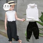 女童套裝女童短袖套裝夏裝新款4韓版6小女孩衣服5時尚休閒9兩件套11歲全館免運下殺88折