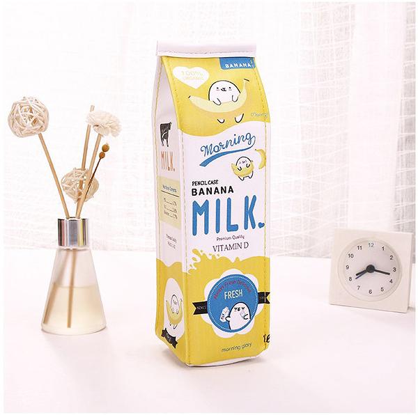 【03083】 水果調味乳筆袋 筆袋 創意筆袋 文具 開學文具 大容量鉛筆盒 牛奶盒筆袋