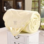 加厚桑絲被秋被空調被單雙人保暖全棉被子冬被絲棉被芯冬季   艾美時尚衣櫥   YYS