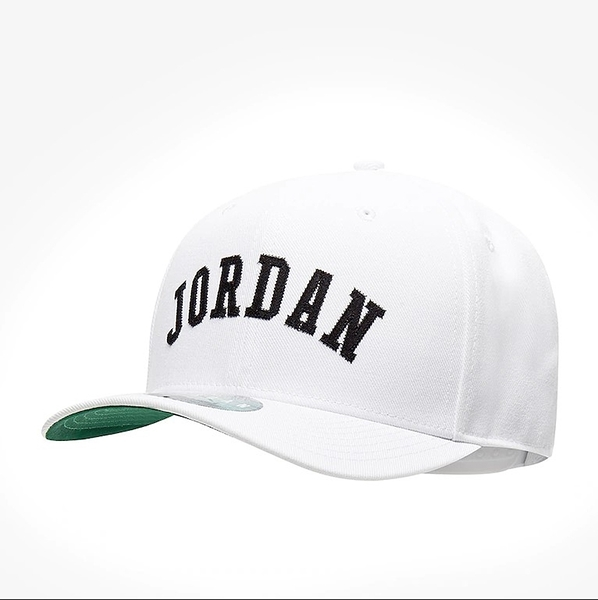 NIKE AIR JORDAN CLASSIC99 JUMPMAN 白 黑刺繡英文logo 老帽(布魯克林) AV8441-100