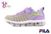 FILA 中大童 運動鞋 個性織布 機能鞋 輕量慢跑鞋 O7694#紫色◆OSOME奧森童鞋