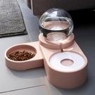 寵物餵食器 貓咪狗狗飲水機流動不插電喝水神器不濕嘴水盆自動喂食器寵物用品