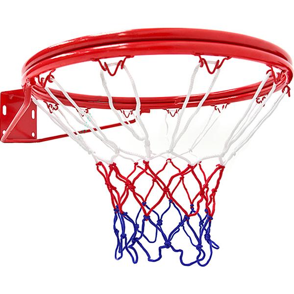 標準18吋雙層金屬籃球框(含籃球網)標準籃框架.耐用籃筐架子籃網.Basketball hoop金屬籃架不含籃球板