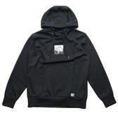THE NORTH FACE 北臉 黑 方框 山LOGO  連帽T恤 帽T 男 (布魯克林) NF0A3VTHJK3