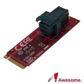 Awesome M.2轉MiniSAS HD36P NVMe轉接模組-AWD-DT-131