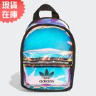 【現貨在庫】ADIDAS MINI BACKPACK 背包 後背包 休閒 潮流 透明 鐳射反光【運動世界】FM3256