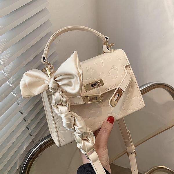 斜背包 高級感洋氣小包包女2021新款潮今年流行手提凱莉包爆款百搭斜挎包【八折搶購】