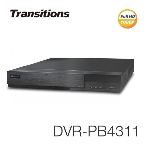 全視線 NVR-PB4311 4路 H.265 快速設定網路型錄放影機
