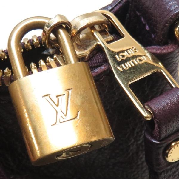 LOUIS VUITTON LV 路易威登 紫色牛皮肩背斜背兩用包M40551 【二手名牌 BRAND OFF】