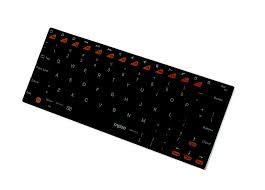 雷柏 E6300 藍芽 iPad 超薄鍵盤 (黑)