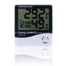 【溫溼度計】多功能大螢幕家用溫度計 溼度計 時鐘 鬧鐘 可站立